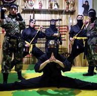 """İran'ın """"Ninja"""" kadınları"""