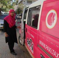 Kadınlar için pembe taksi uygulaması hizmete girdi