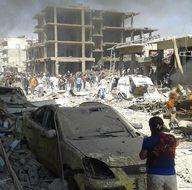 Kamışlı'da bomba yüklü kamyon patlatıldı!