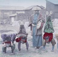 Renklendirilmiş fotoğraflarıyla 1890'ların Japonya'sı