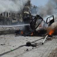 Rus ve Suriye ordusu uçakları Halep'i bombaladı!