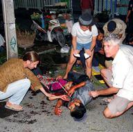 Tayland patlamalarla sarsıldı