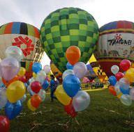 Tayvan'daki balon festivalinden kareler