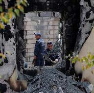 Ukrayna'nın Letoçki köyünde yangın: 17 ölü