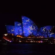 Vivid Sydney renkli görüntülerle başladı