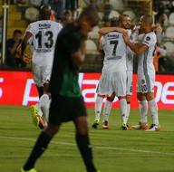 Akhisar Belediyespor - Beşiktaş maçından kareler