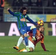 Çaykur Rizespor - Galatasaray maçından kareler