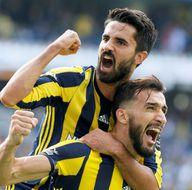 Fenerbahçe - Aytemiz Alanyaspor karşılaşmasından kareler