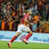 Galatasaray - Çaykur Rizespor maçından kareler