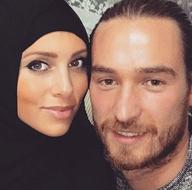 Ömer Şişmanoğlu'nun Alman eşi tesettüre girdi