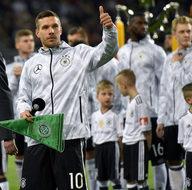 Lukas Podolski son kez milli oldu