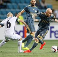 Zorya Luhansk - Fenerbahçe maçından kareler