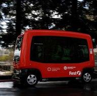 ABD'de şoförsüz otobüs ilk seferini yaptı