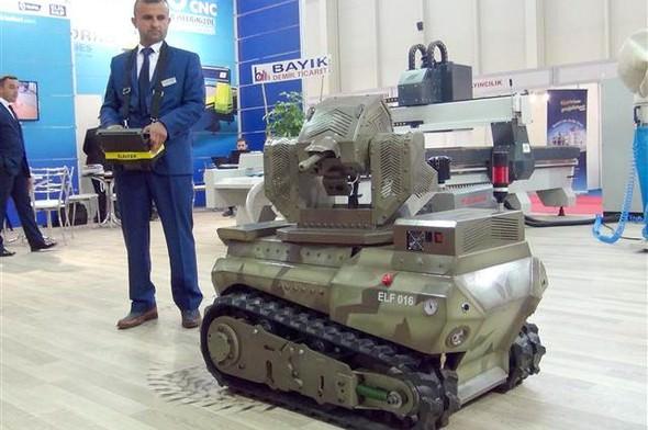 'Ankerot' oyuncak değil, mini tank