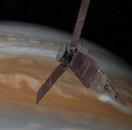 Juno, Jüpiter'den ilk görüntüyü dünyaya gönderdi!