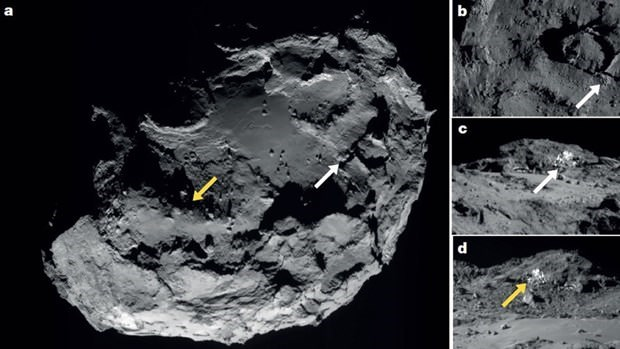 Uzay aracı Rosetta'ya veda