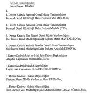 396 ilçe kaymakamı ile 106 vali yardımcısının yeri değiştirildi! İşte liste...