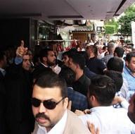Adana'da MHP'lilerin basın açıklamasında arbede