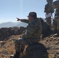 Komutanlar çatışma hattında