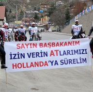 Başbakan Yıldırım'a Gümüşhane'de sürpriz karşılama