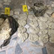 Bomba yapımında kullanılan 111 kilogram malzeme ele geçirildi