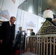 Cumhurbaşkanı Erdoğan'ın Yavuz Sultan Selim'in türbesini ziyareti etti