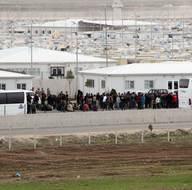 Eğitimlerini tamamlayan Suriyeli polisler ülkelerine gönderildi
