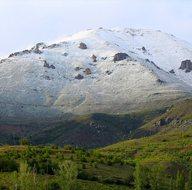 Erzincan'a mayıs ayında kar yağdı