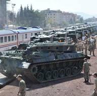 İstanbul'dan gönderilen tanklar İslahiye'de!