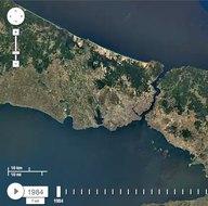 İstanbul'un uydu görüntüleriyle 32 yıllık değişimi