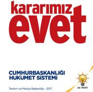 İşte AK Parti'nin Cumhurbaşkanlığı Sistemi kitapçığı