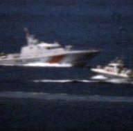 Kardak'ta Türk ve Yunan botları arasında kovalamaca