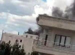 Midyat Emniyet Müdürlüğüne yapılan saldırıdan ilk fotoğraflar
