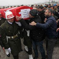 Şehit Salih Kayan'ın cenazesi Samsun'a getirildi