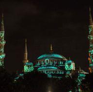 Sultanahmet Camii'nde video haritalama