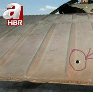 Terörist ateşine maruz kalan Skorsky helikopterden özel görüntüler