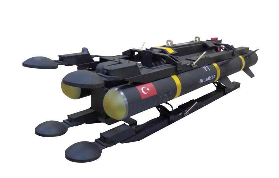Türkiye'nin ilk yerli tasarım tanksavar füzesi UMTAS