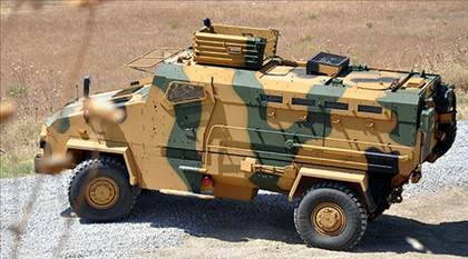 BMC Kirpi Zırhlı Personel Taşıyıcı