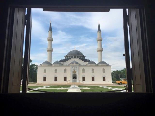 Amerika'da Osmanlı ve Selçuklu mimarisi tarzında inşa edilen cami