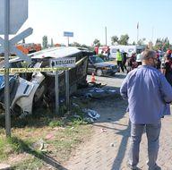 Aydın'da öğrenci servisi kazası: 1 ölü, 14 yaralı