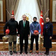 Cumhurbaşkanı Erdoğan'a çok özel hediye