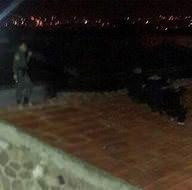 Firar etmeye çalışan suçlular çatıda böyle yakalandılar