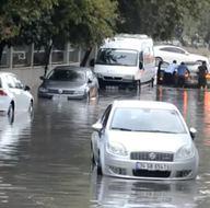 İstanbul'da yağmur çilesi