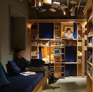 """""""Kitap ve yatak"""" oteli"""