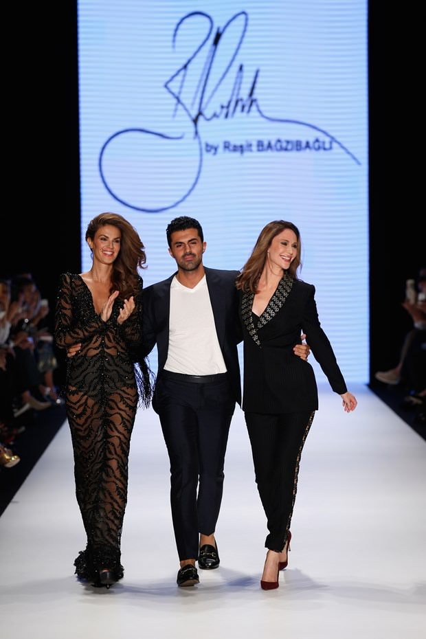 Fashion week 2017 istanbul - Ra It Ba Z Ba L Defilesinde Demet Ener Ve T 252 Lin Ahin