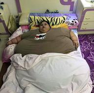 Yaşayan en kilolu kadın: Yarım ton