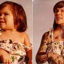 Yıllar sonra aynı pozla çekilmiş ilginç fotoğraflar