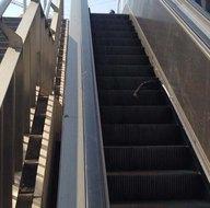 Yürüyen merdiven 2 turisti yaraladı