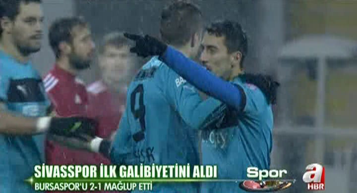 Sivasspor:2 - Bursaspor:1 (Özet)