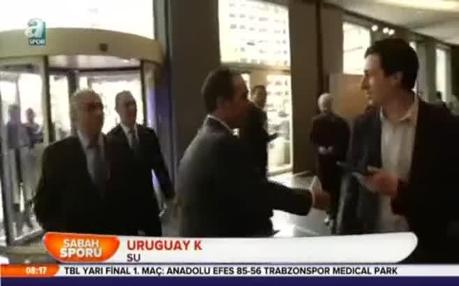 Uruguay krizi fırsat bildi